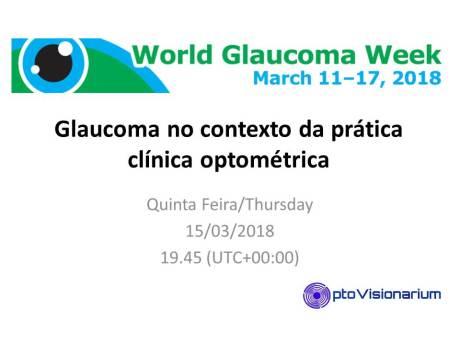 Glaucoma no contexto da prática clínica optométrica